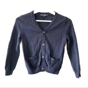 Brooks Brothers V-Neck Pocket Cardigan Sweater
